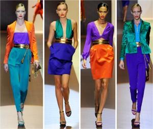 Gucci Color Blocks Down the Runway, image: felfelfashion.com